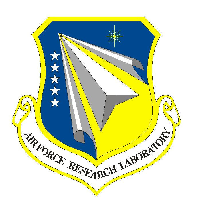United States Air Force Research Lab Vinyl Sticker R460 - Winter Park Products