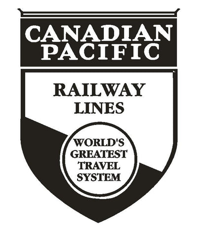 Canadian Pacific Railway Railroad Sticker R325 - Winter Park Products