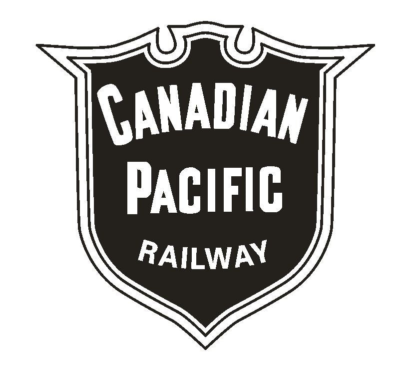 Canadian Pacific Railway Railroad Sticker R323 - Winter Park Products
