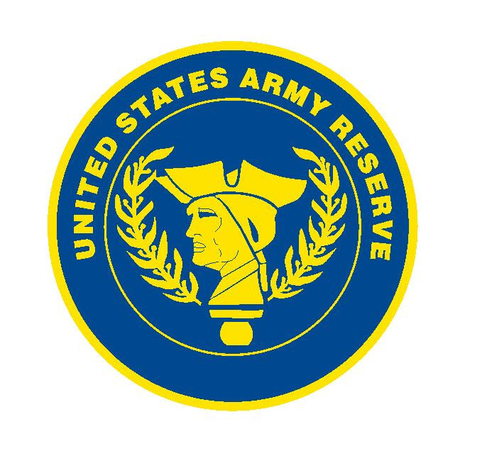 Army Reserve Vinyl Sticker R12 - Winter Park Products