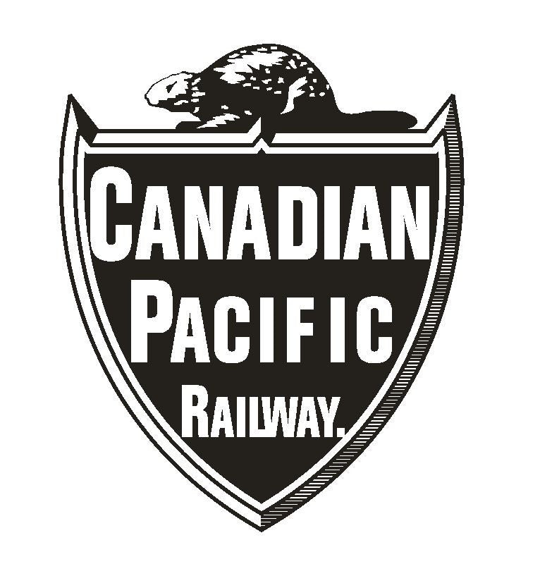 Canadian Pacific Railway Railroad Sticker R327 - Winter Park Products