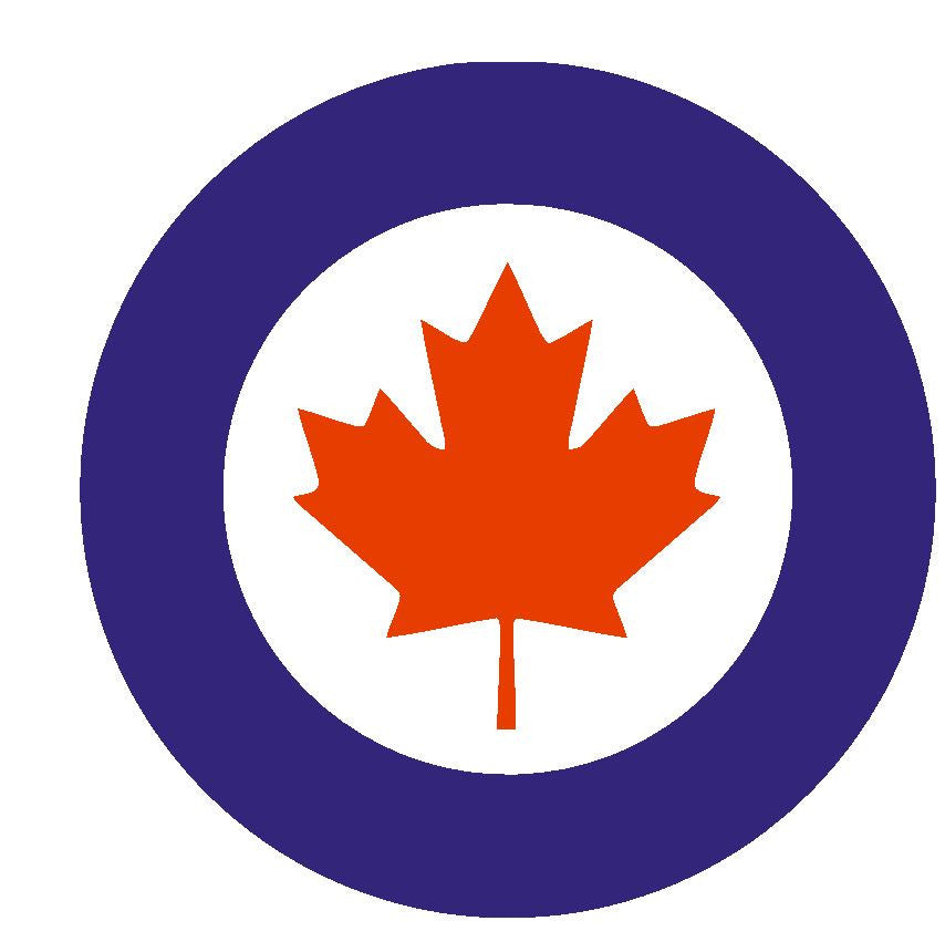 Canadian Air Force Vinyl Sticker R300 - Winter Park Products