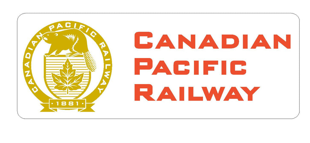 Canadian Pacific Railway Railroad Sticker R326 - Winter Park Products