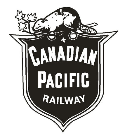 Canadian Pacific Railway Railroad Vinyl Sticker R324 - Winter Park Products