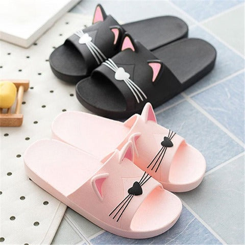 Adorable Cat Ear Slides - Pawsitive Products