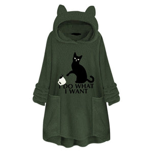 Pull Over Cat Hoodie/Sweater - Pawsitive Products