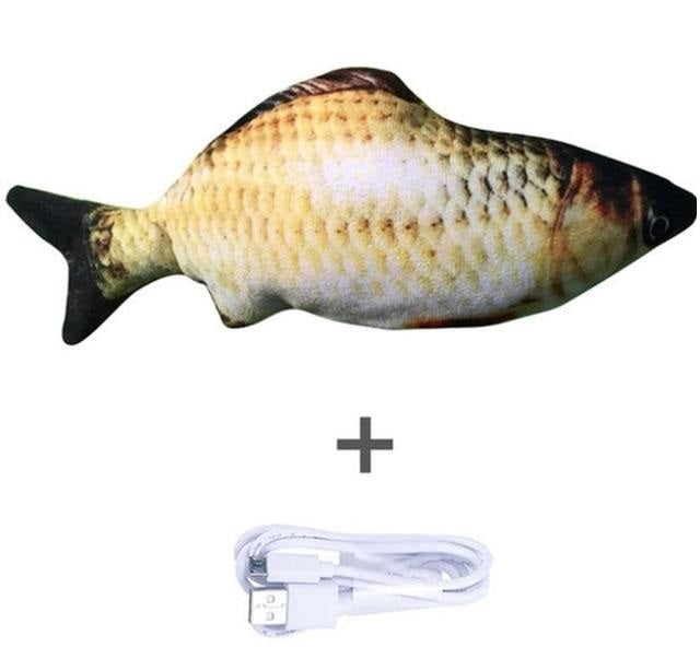 Interactive Floppy Fish Toy - Pawsitive Products
