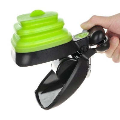 Foldable One handed Poop Scoop With Decomposable bags - Pawsitive Products