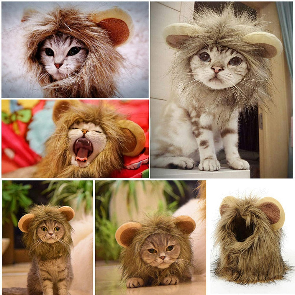 LionRoar - Lion Mane Headpiece for Cats & Dogs (50% OFF) - Pawsitive Products