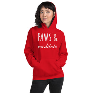 Paws & Meditate Hoodie - Pawsitive Products