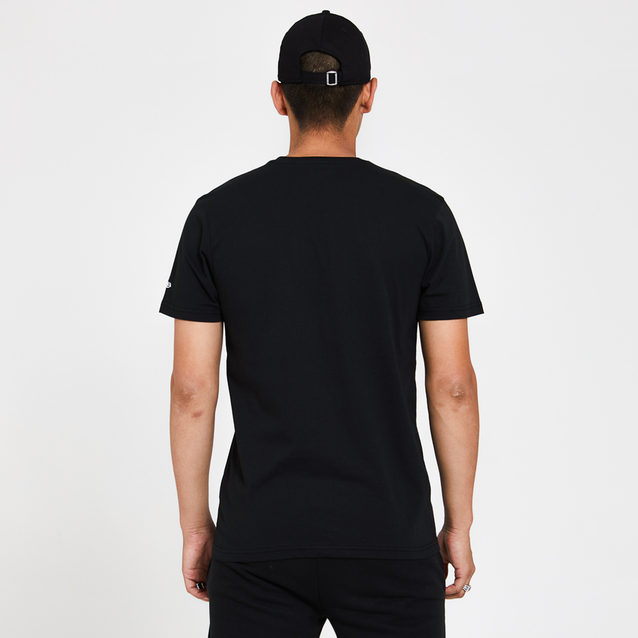 New Era Rose Wordmark Black Tee