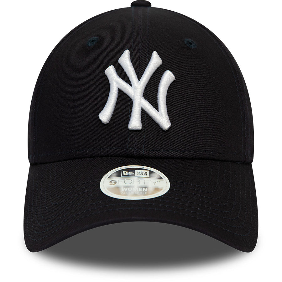 New York Yankees 9Forty Womens League Essential Navy/White Cap