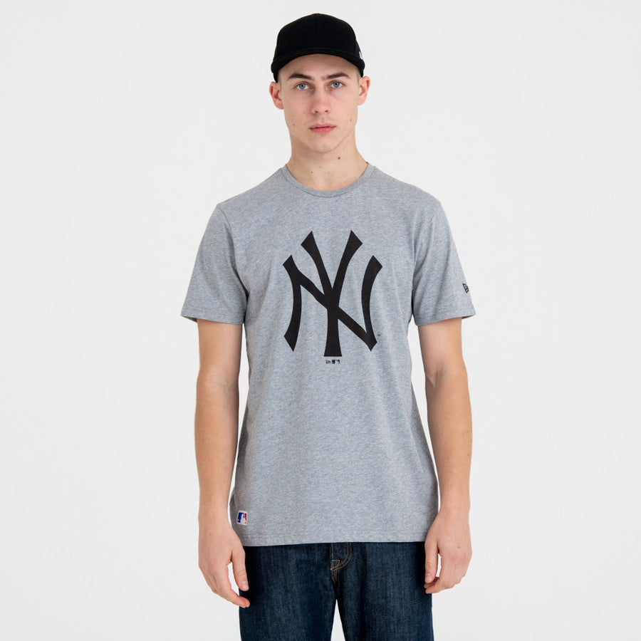 New York Yankees MLB Grey/Black Tee