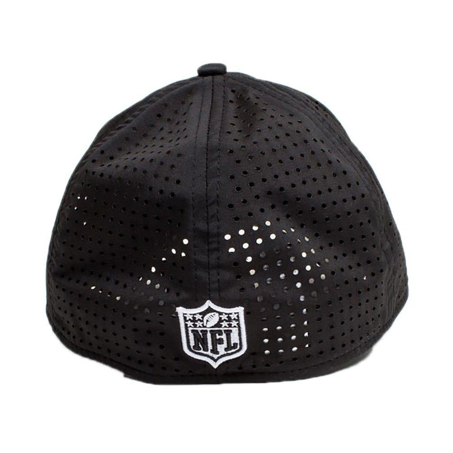 Oakland Raiders 39Thirty Feather Perf Black/White Cap
