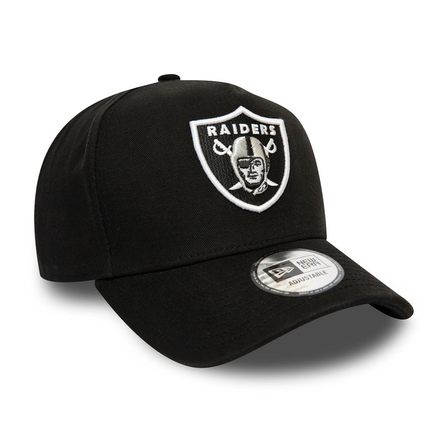 Oakland Raiders Trucker Team Washed Black Cap