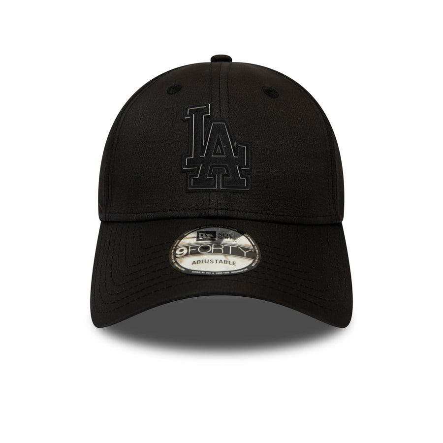 Los Angeles Dodgers 9Forty Ripstop Black Cap