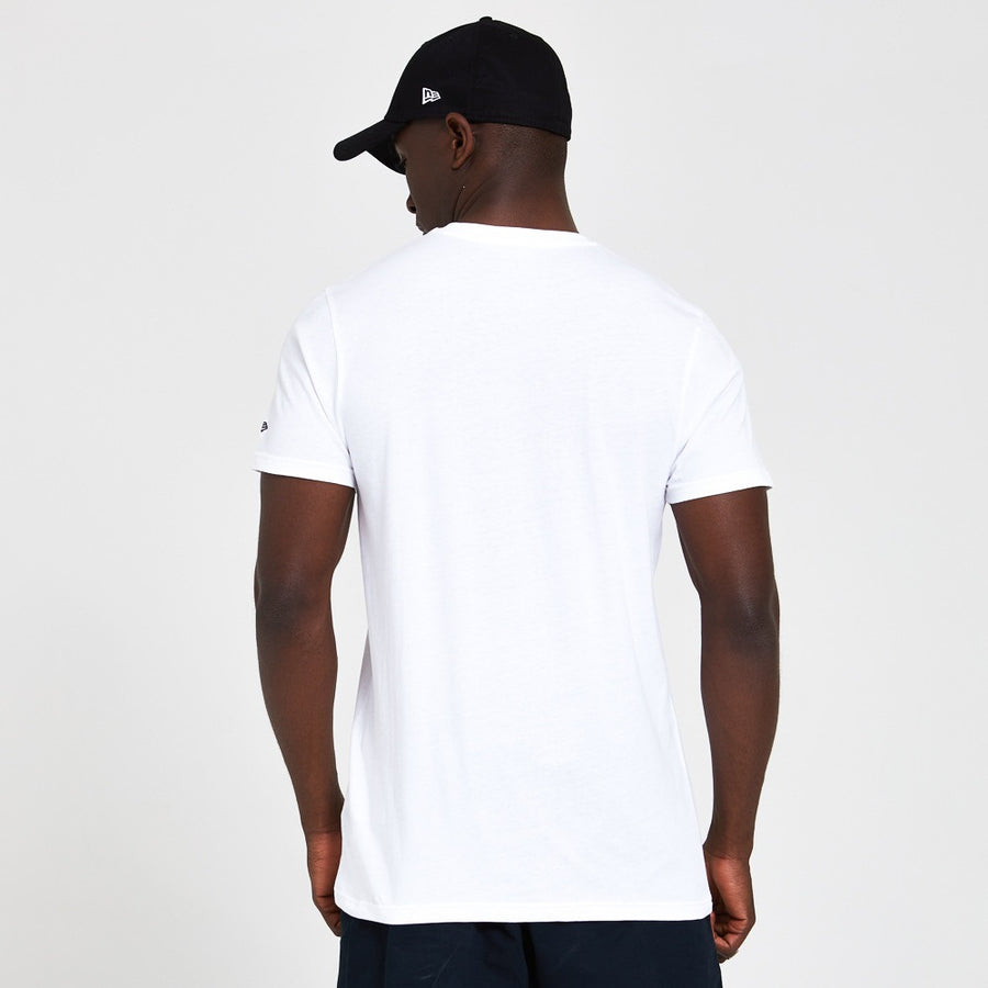 New Era Established Flag White Tee