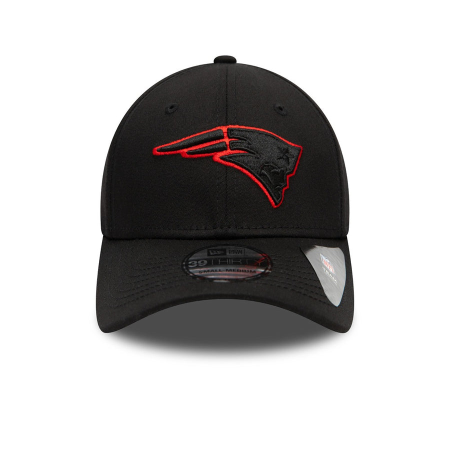 New England Patriots 39Thirty Tonal Black Cap