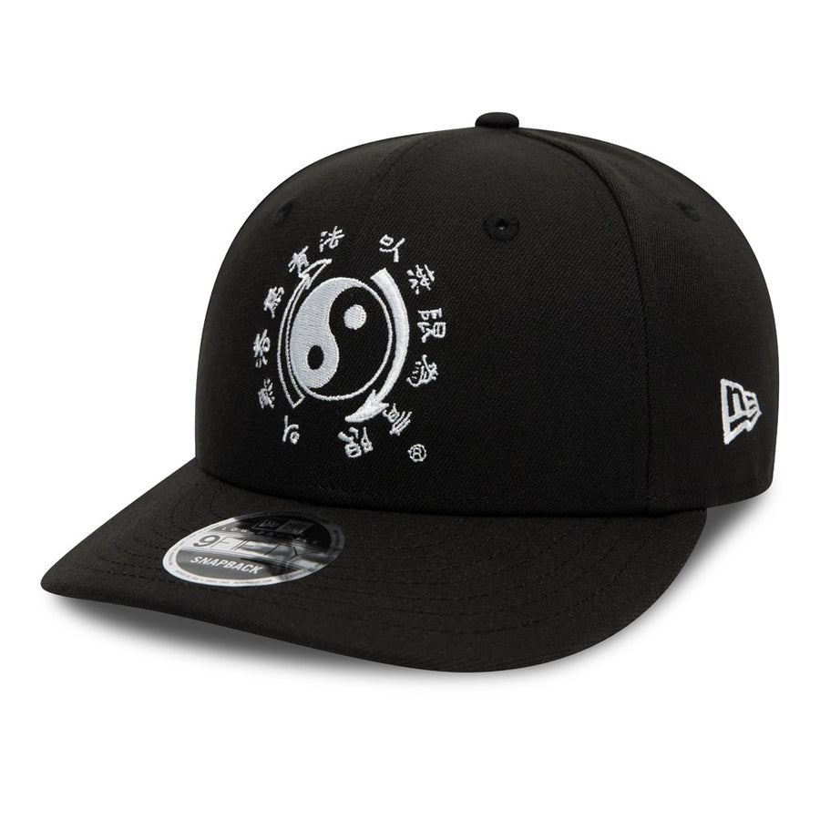 Bruce Lee  9Fifty Low Profile 80Th Dragon Taikyoku Black/White Cap