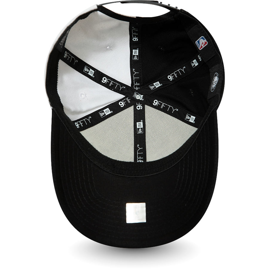 Brooklyn Nets 9Fifty Stretch Snap NBA Team Split Black/White Cap