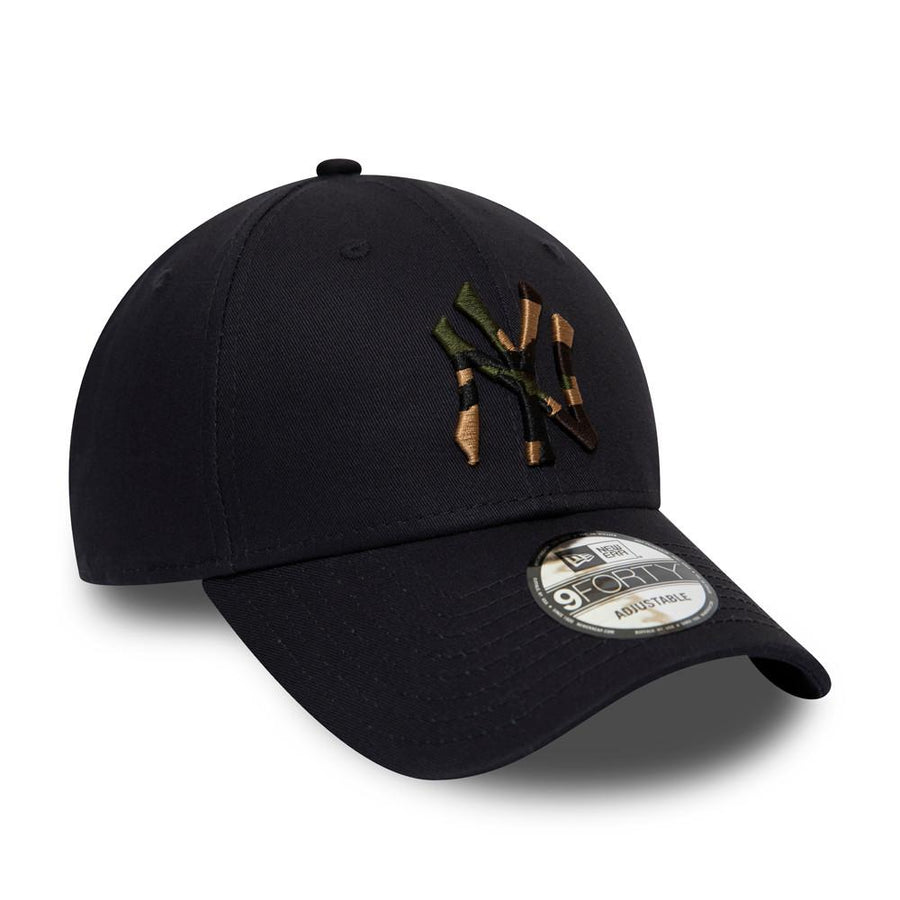 New York Yankees 9Forty Camo Infill Navy Cap