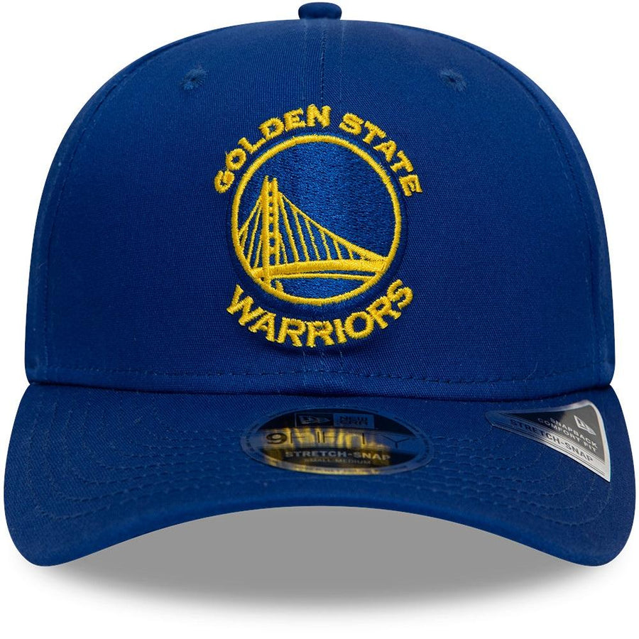 Golden State Warriors 9Fifty Team Stretch Royal/Yellow Cap