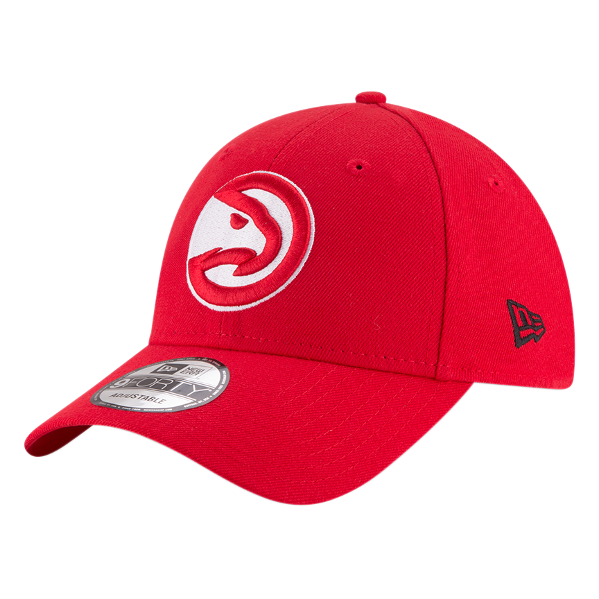 Atlanta Hawks 9Forty NBA The League Red/White Cap