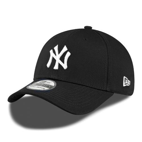 New York Yankees 39Thirty MLB League Basic Black/White Cap