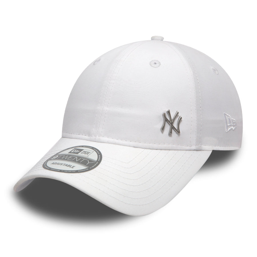 New York Yankees 9Twenty MLB Flawless Logo Basic White Cap