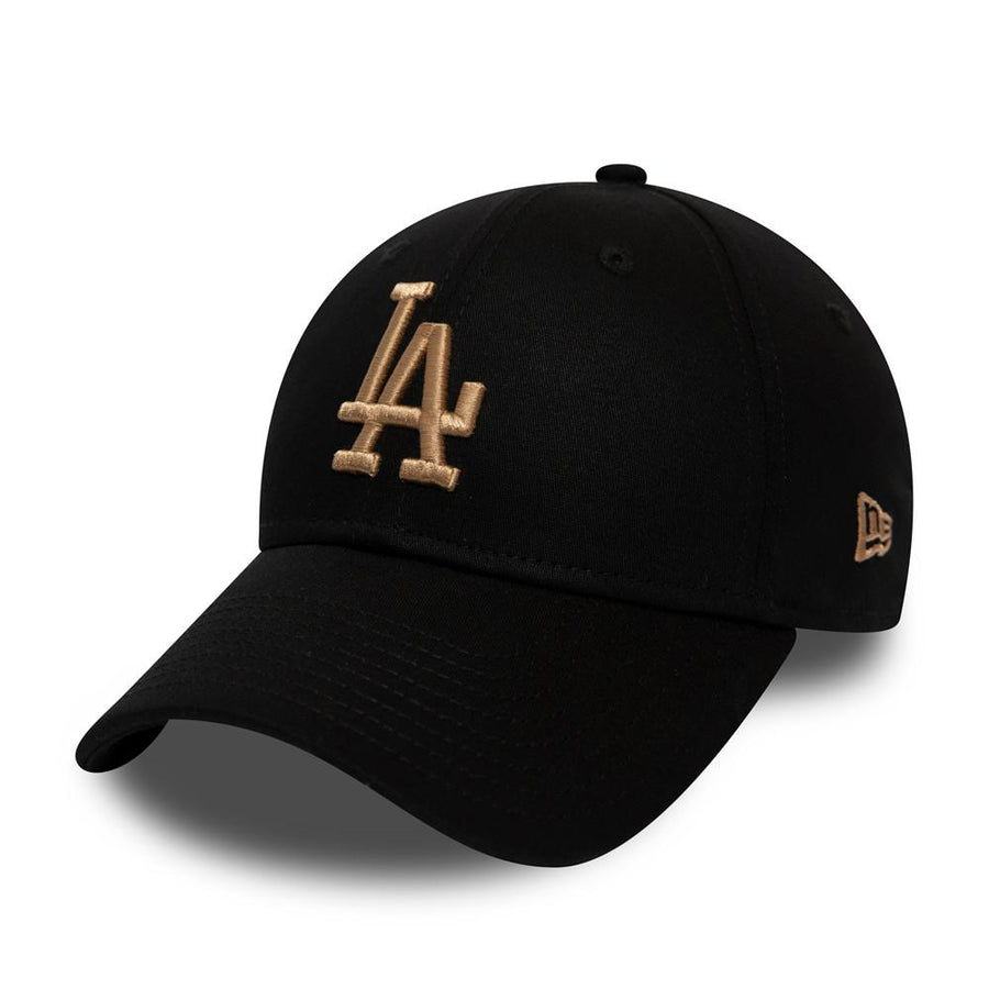 Los Angeles Dodgers 39Thirty League Essential Black/Camel Cap