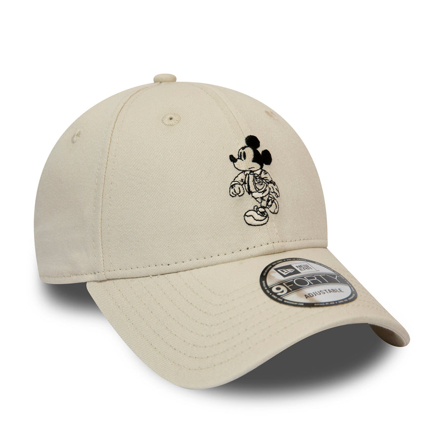 New Era 9Forty Street Mickey Mouse  Stone Cap