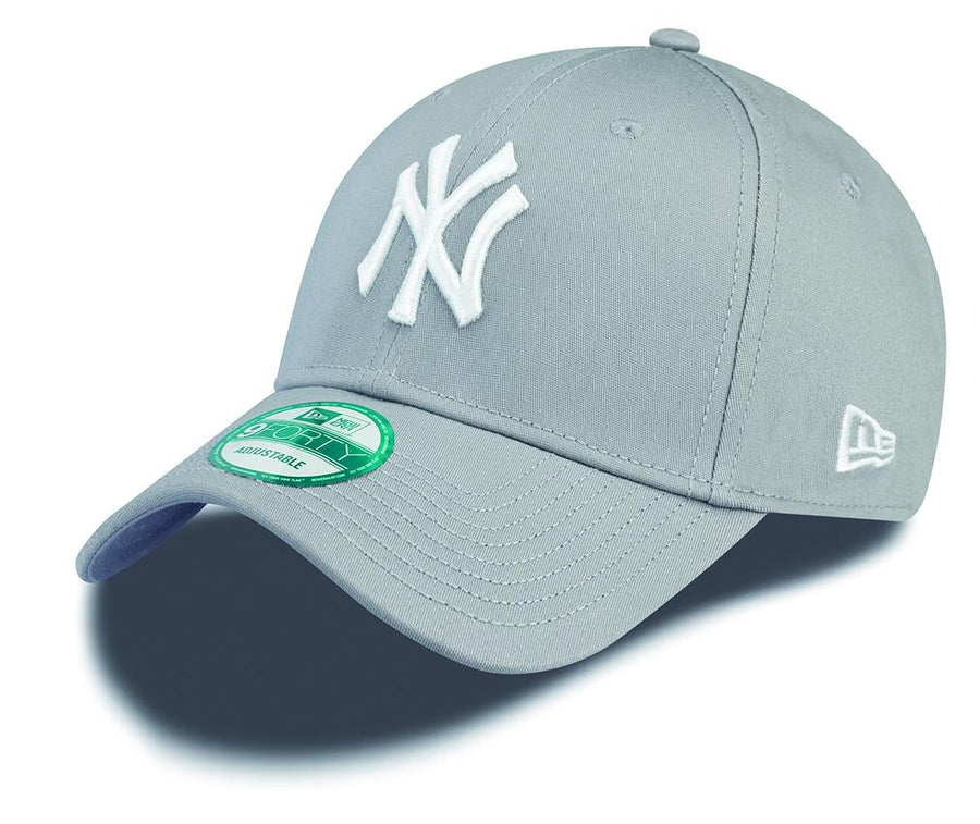 New York Yankees 9Forty League Basic Grey/White Cap