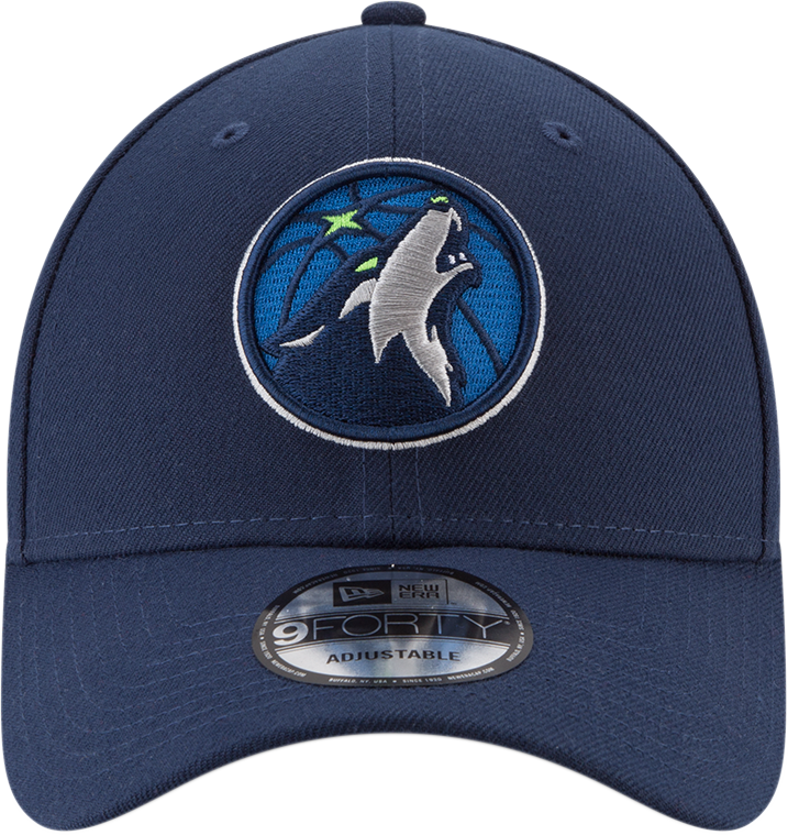 Minnesota Timberwolves 9Forty NBA The League Navy/White Cap