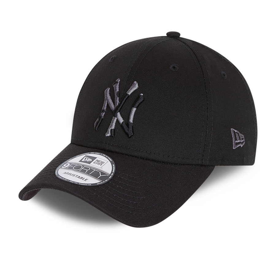New York Yankees 9Forty Camo Infill Black Cap