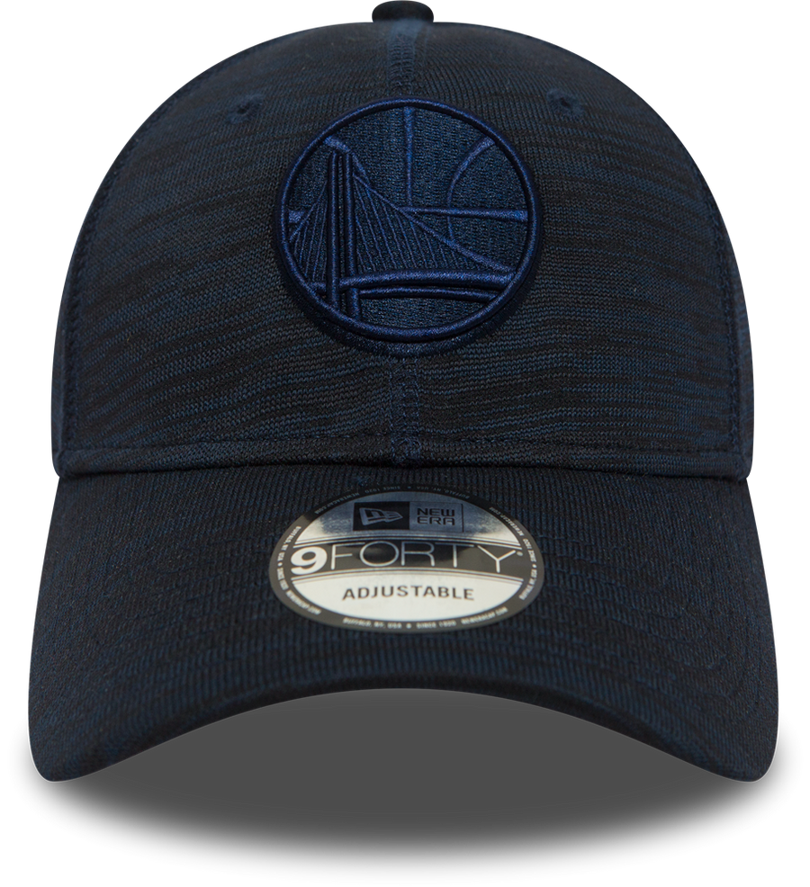 Golden State Warriors 9Forty Engineered Fit Navy/Black Cap