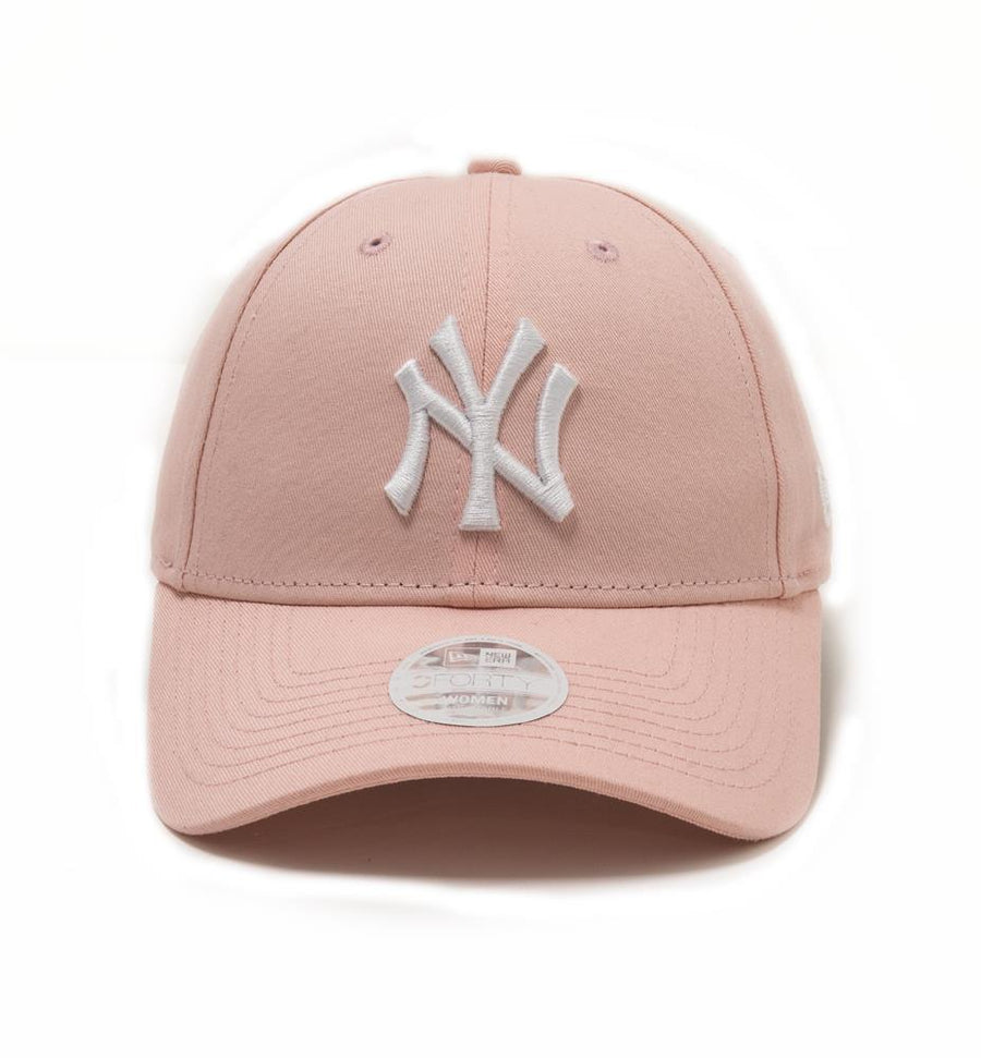 New York Yankees 9Forty Womens League Essential Pink/White Cap