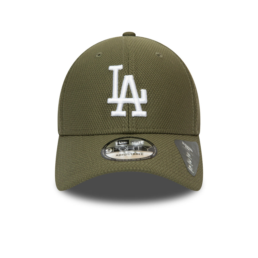 Los Angeles Dodgers 9Forty Diamond Era Essential Olive/White Cap