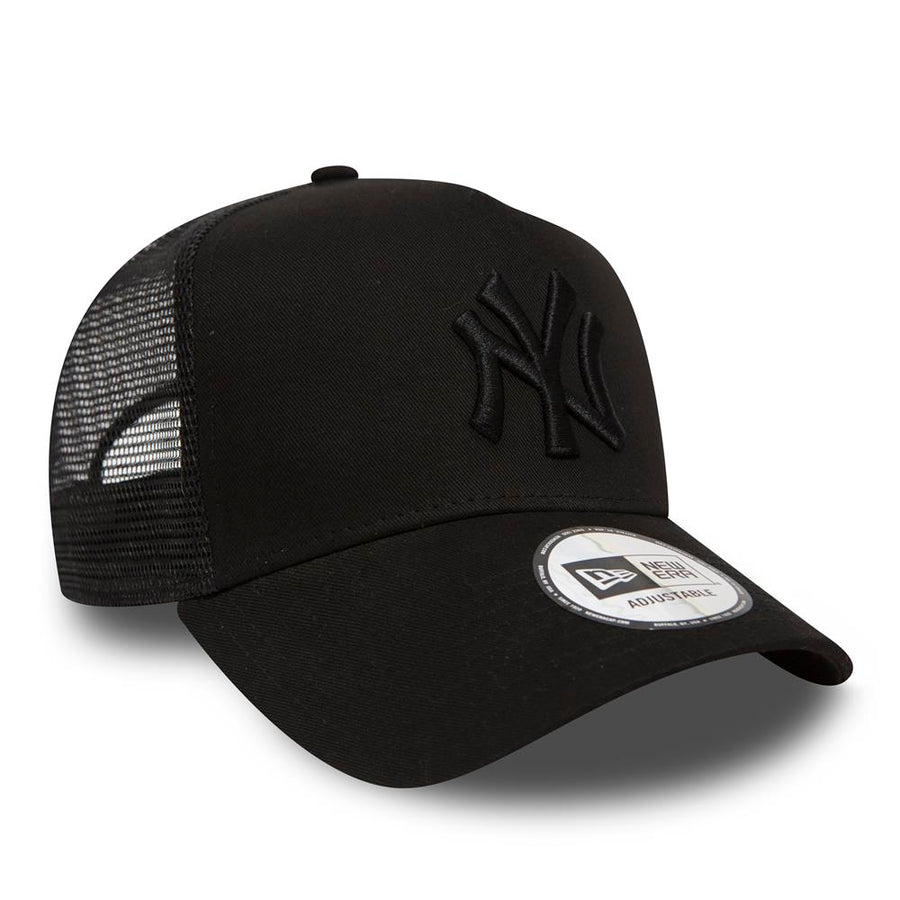 New York Yankees Clean II Trucker Black Cap