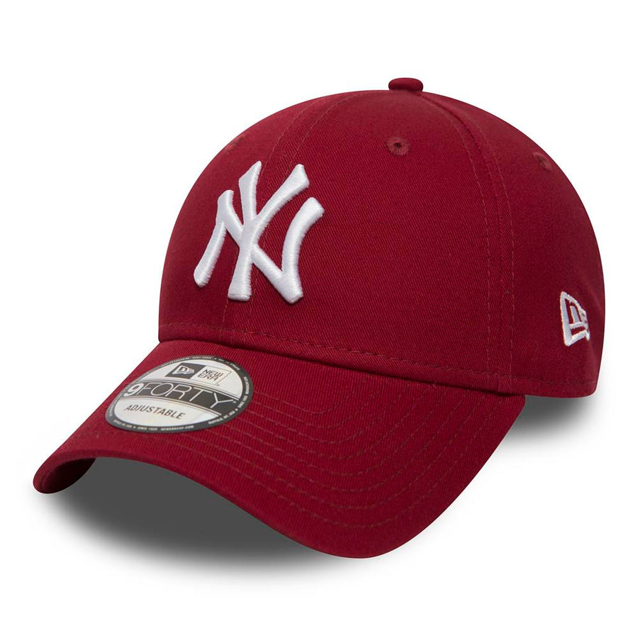 New York Yankees 9Forty League Essential Maroon/White Cap