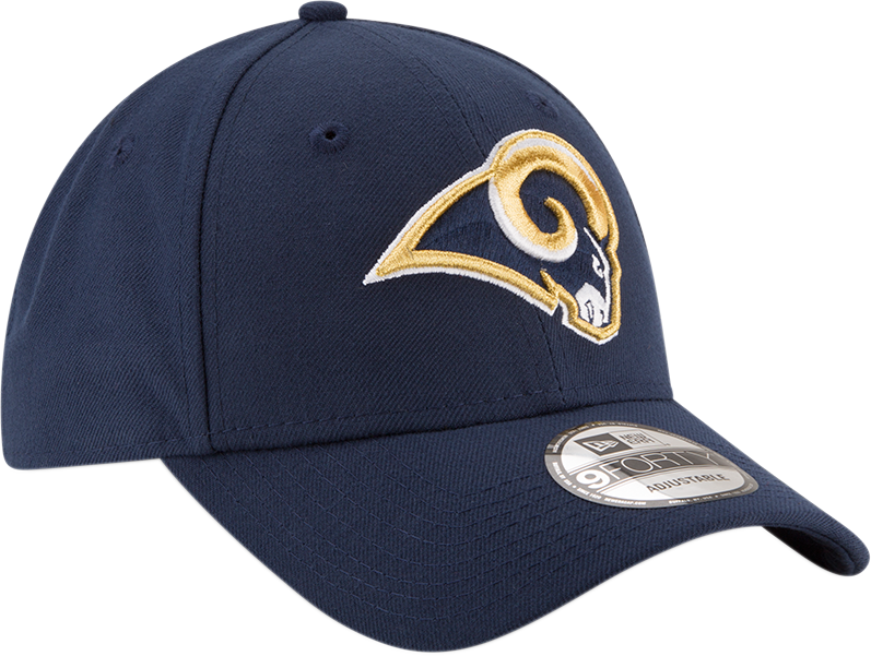 Los Angeles Rams 9Forty NFL The League Navy/Yellow Cap