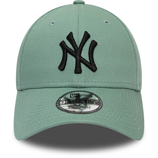 New York Yankees 9Forty Kids League Essential Teal/Black Cap