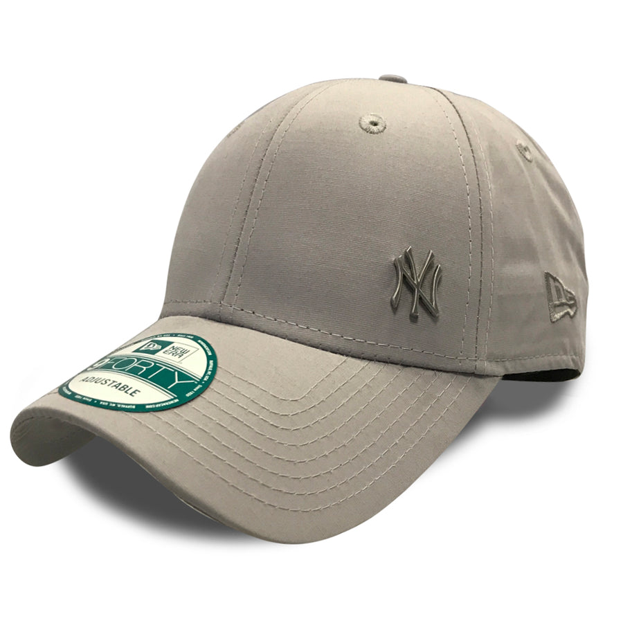 New York Yankees 9Forty MLB Flawless Logo Grey Cap