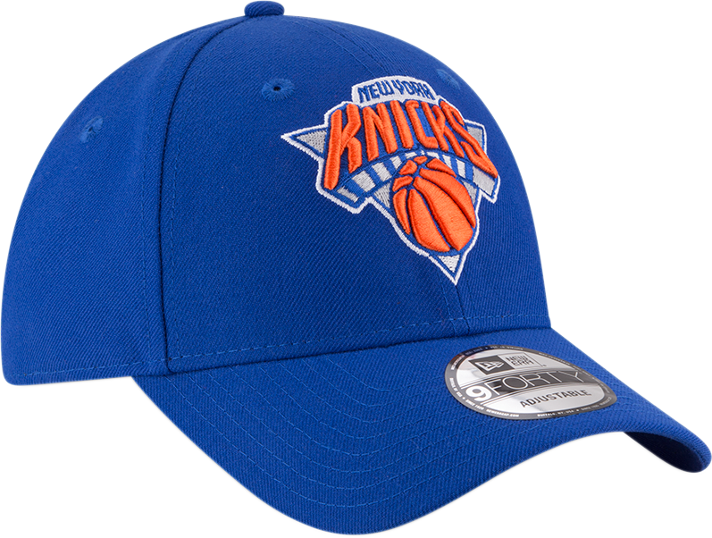 New York Knicks 9Forty NBA The League Blue/Orange Cap