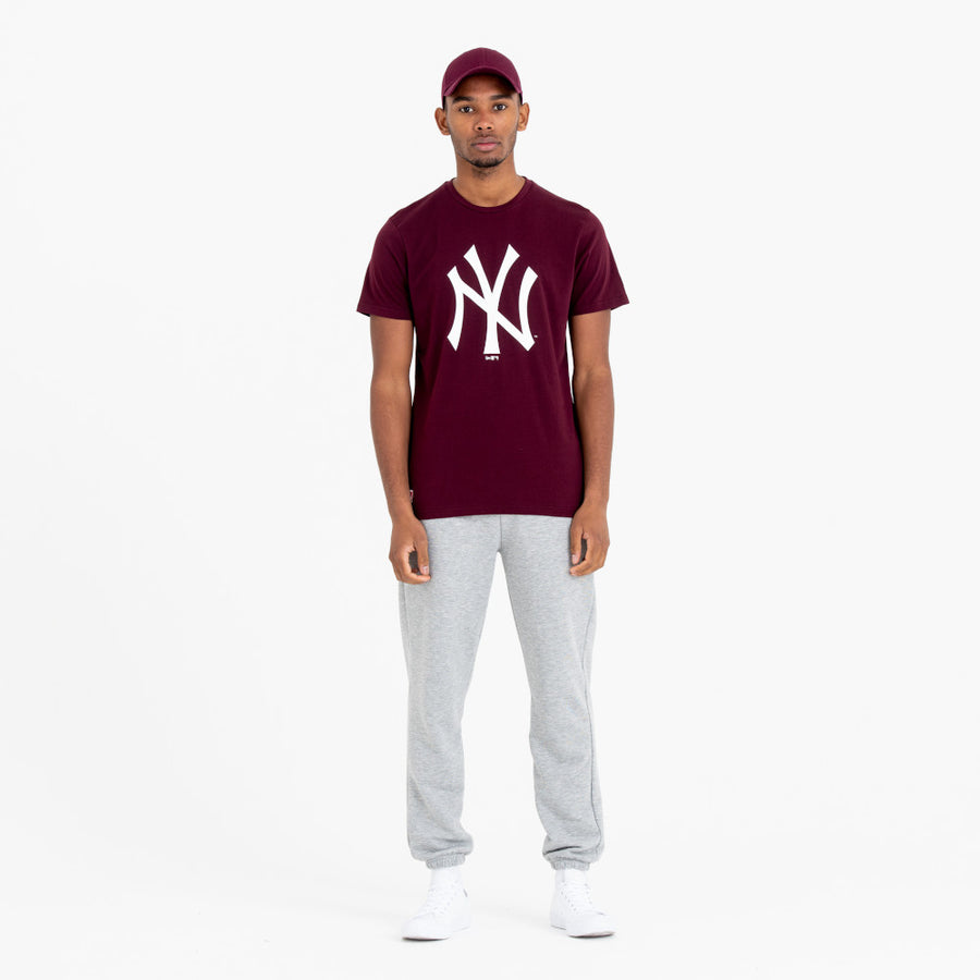 New York Yankees MLB Maroon/White Tee