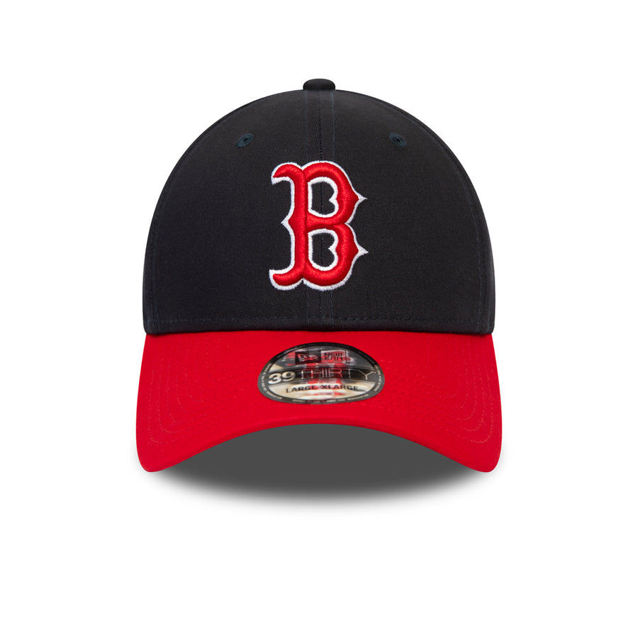 Boston Red Sox 39Thirty League Essential Navy/Red Cap