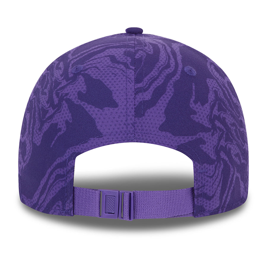 Los Angeles Lakers 9Forty Seasonal Camo Purple Cap