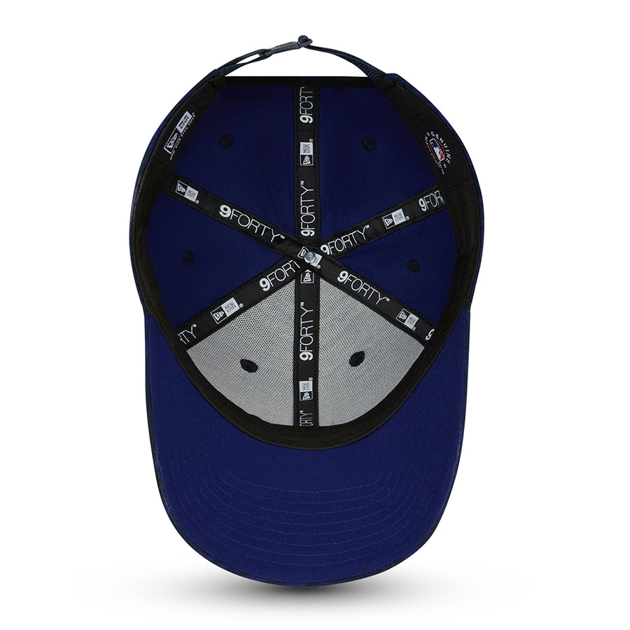 Los Angeles Dodgers 9Forty Seasonal Camo Navy Cap