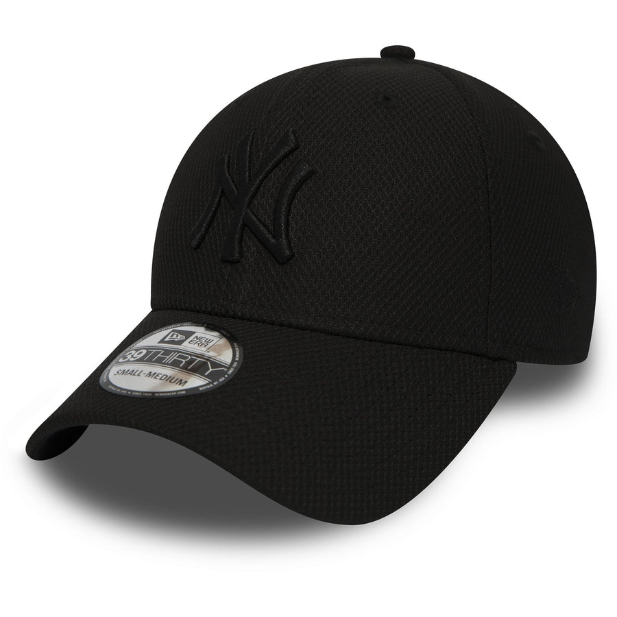 New York Yankees 39Thirty Diamond Era Black/Black Cap