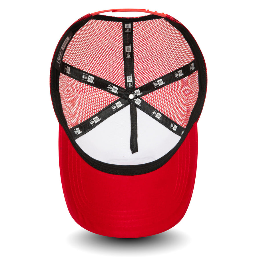 New Era Trucker Flag White/Red Cap