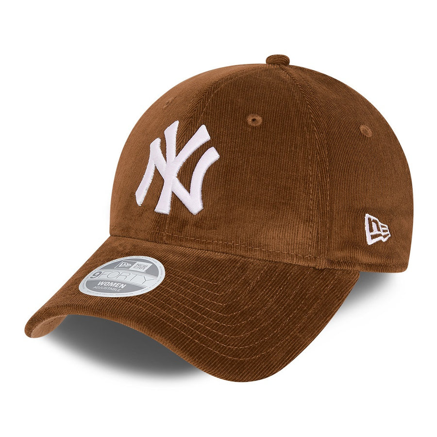 New York Yankees 9Forty Womens Corduroy Toffee Cap